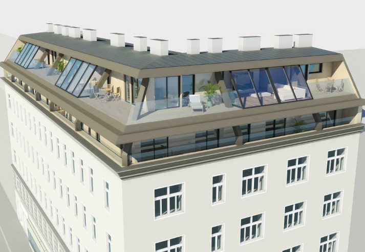 Allerheiligenplatz Dachgeschossausbau