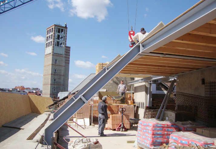 Dachgeschossausbau Lechnerstraße