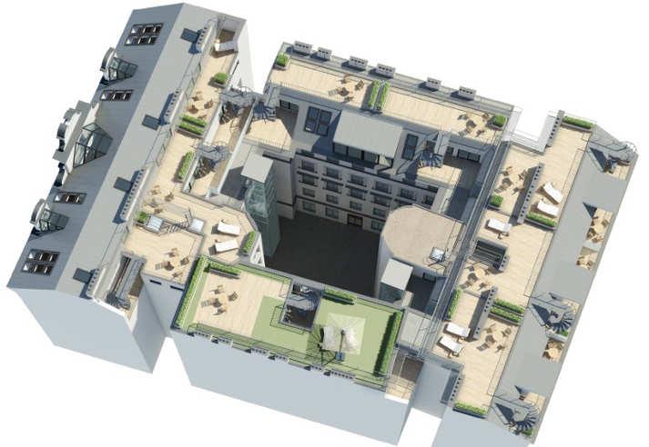 Lerchenfelderstrasse Dachgeschossausbau