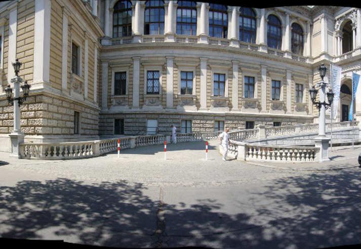 Uni Wien Fassade